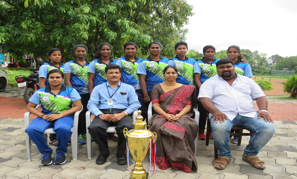 Our wrestling team – The University Champions
