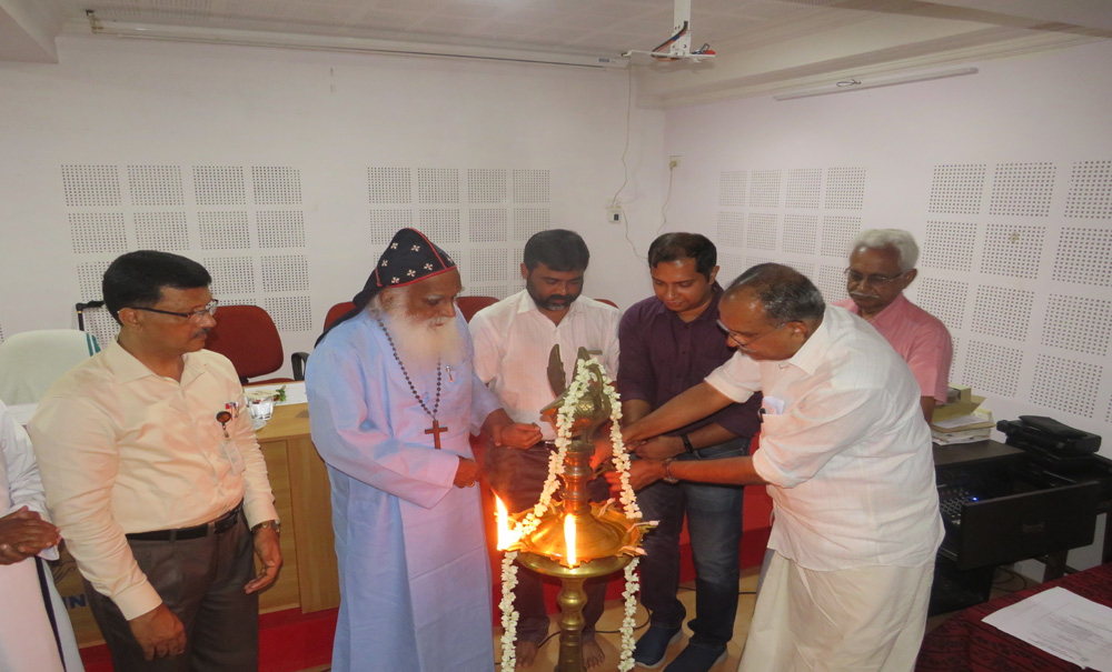 Inauguration of DBT-STAR by manager Dr. Joseph Mar Thoma Metropolitan